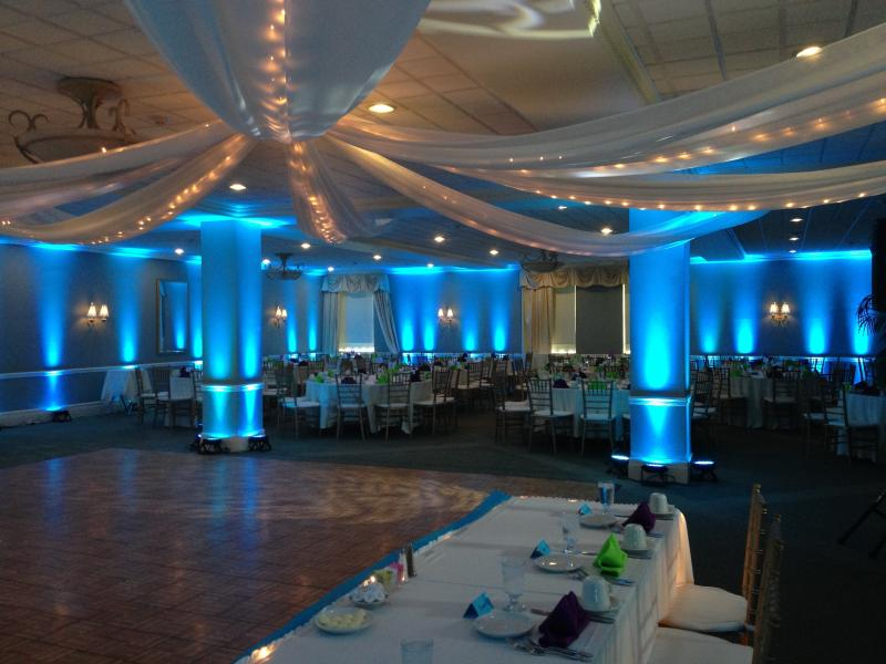 Baltimore Md Uplighting For Weddings And Corporate Events A Treasured Wedding
